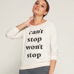 Anthropologie sol Angeles can't stop sweater